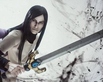 Orochimaru's sword, Naruto, Anime, Manga, Orochimaru, Weapon, Prop, Cosplay, Costume, 3d printing, Halloween