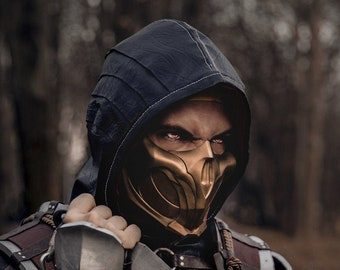 Mortal Kombat 11 Jade Or Skarlet Mask Etsy