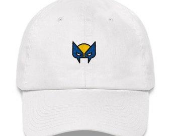 f56b1d71e14 Wolverine Hat - Wolverine - Xmen - Xmen Hat - X-Men - Wolverine Dad Hat - Superhero  Hat - Superhero - Marvel - Marvel Hat - X-Men Hat