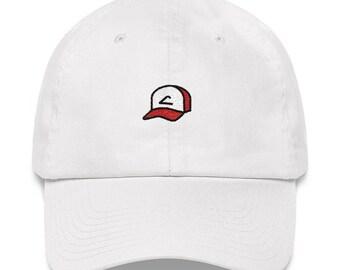e6a490ef4ab Ash Hat - Ash - Ash Ketchum - Ash Dad Hat - Ash Pokemon - Pokemon - Pokemon  Dad Hat - Pokemon Hat - Ash Ketchum Hat - Trainer Hat - Trainer