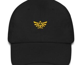 7434d2e14a0 Hyrule Crest Dad Hat - Hyrule Crest - Hylian Crest - Hylian Crest Hat -  Wing Crest - Wing Crest Hat - Zelda Hat - Hyrule Crest Hat - Hyrule