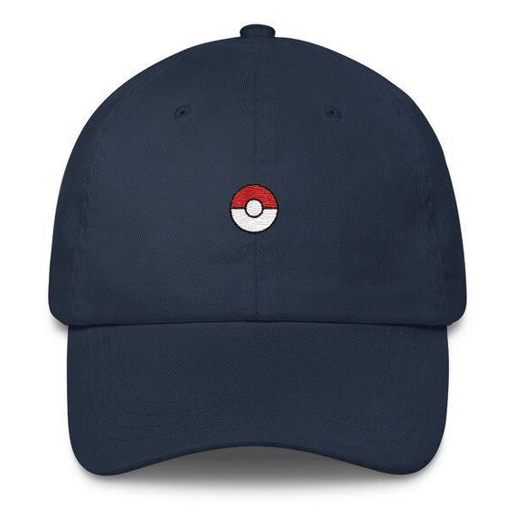 02d3b71c39f Pokeball Hat Pokeball Cap Pokeball Dad Hat Pokeball Dad