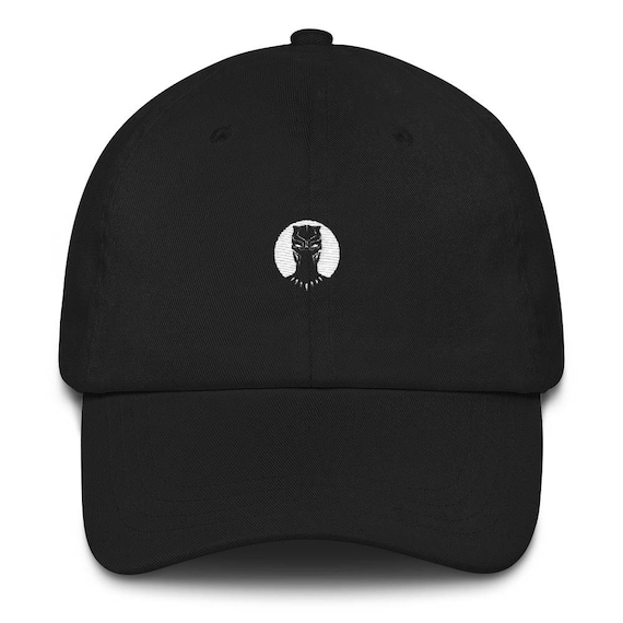 Black Panther Hat Black Panther Black Panther Dad Hat  9a38233ebfe