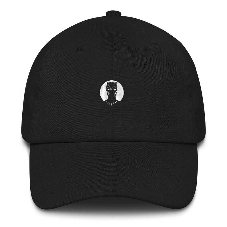 Black Panther Hat Black Panther Black Panther Dad Hat  703dada05c1