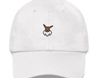 Eevee Hat - Eevee - Eevee Dad Hat - Pokemon - Pokemon Hat - Pokemon Dad Hat - Let's Go Eevee - Pokemon Let's Go Eevee - Lets Go Eevee Hat