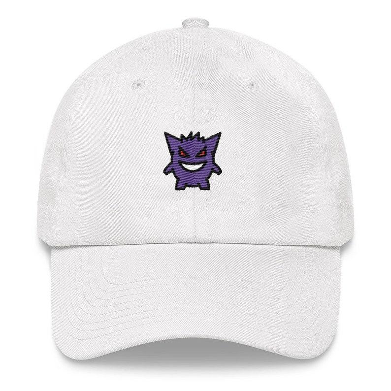 Gengar Hat Gengar Pokemon Pokemon Hat Gengar Dad Hat  63d4d007652d
