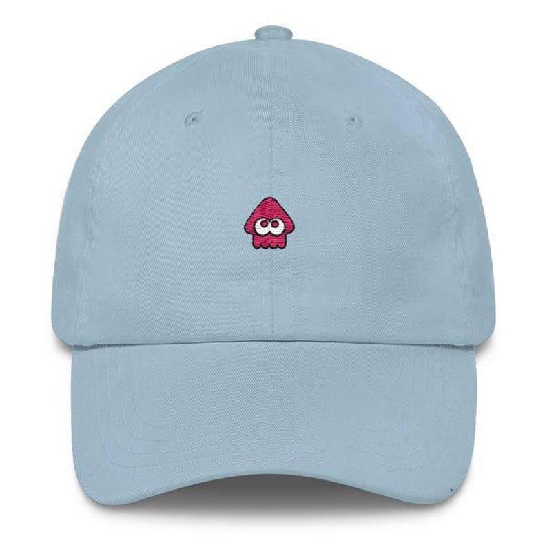 9e0039608a8c9 Pink Squid Hat Splatoon Hat Pink Squid Cap Splatoon 2