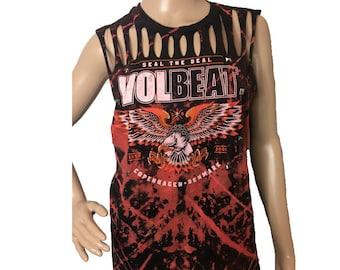 Volbeat Photo Slices Band T-shirt T-shirts