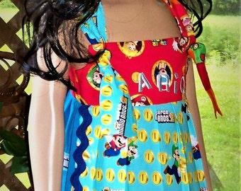 Super Mario Bros.  girls dress
