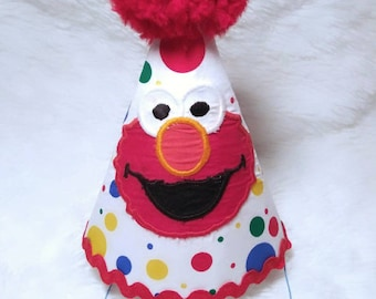 Elmo Birthday Party Hat 1st Sesame Street