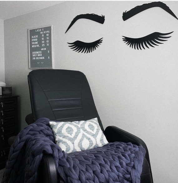Cool Eyelash Sign Make Up Room Decor Make Up Artist Christmas Gift Little Girls Room Sign Salon Decor Make Up Decor Microblading Decor Short Links Chair Design For Home Short Linksinfo