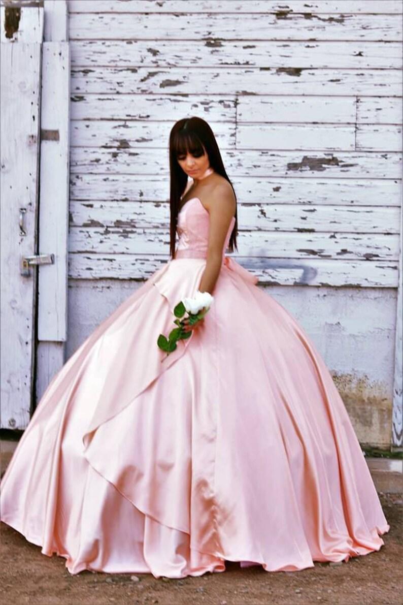 861308199c0 Ara Rose Gold Quinceanera Dress