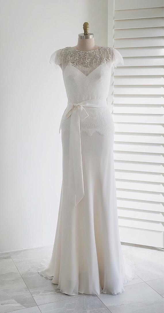 Bolero bridal top Lace topper Bridal cover up Lace bolero | Etsy