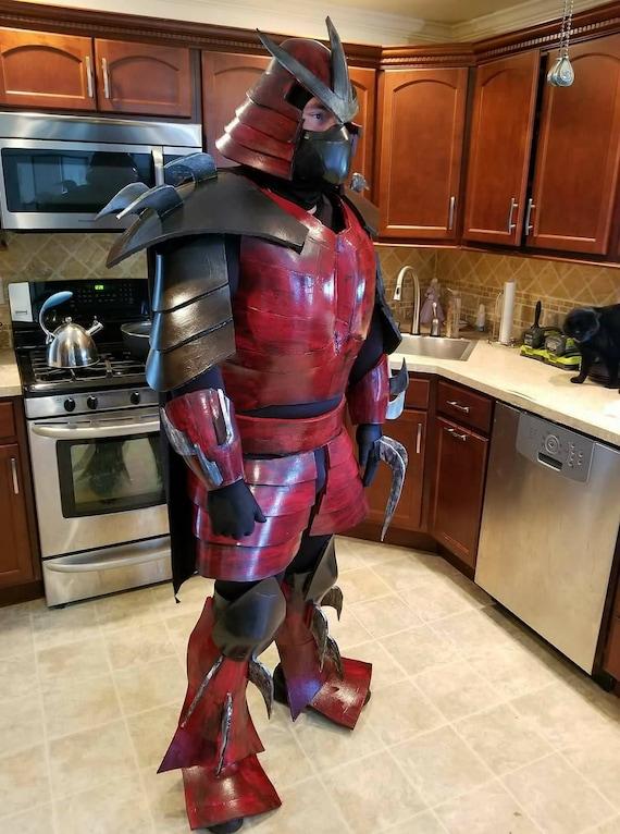 2003 Tmnt Shredder Inspired Cosplay Armor Etsy