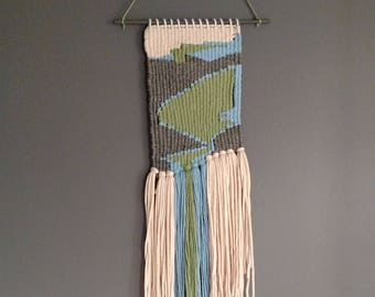 R A V I N E  woven wall hanging