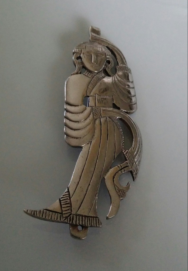 Vintage Alva Museum Replicas AsianThai Themed Dancer BroochPin