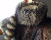 RACCOON Fur HAT - Real fur. Men's L/XL. Trapper hat/ coon skin/ buck skinner/frontier/ reenactment/ mountain man/ hunting
