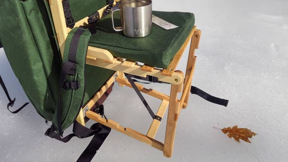 Remarkable Pac A Chair Easy Carry Set Up Folding Backpack Chair Camping Hiiking Ice Fishing Canoeing Hunting Woodsman Gmtry Best Dining Table And Chair Ideas Images Gmtryco