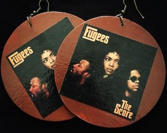 Items Similar To Miniature Vinyl Album Earrings On Etsy