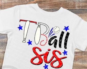 Tball sister svg file, tball svg, tball family, tball sister shirt, tball svg files, Tee ball svg, Tee ball shirt svg, Tee ball sister