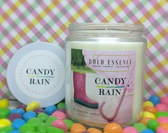 Candy Rain - Scented Soy Candle