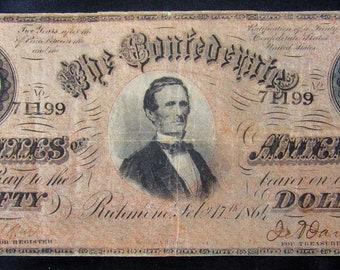 Old 50 dollar bills   Etsy