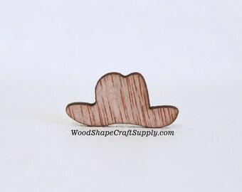 100 - 15 16 Inch Wood Cowboy Hats - Small Wooden Cowboy Hats - Cowboy  Rustic Wedding Decor - Table Confetti - Cowboy Hat Wood Shapes 4b4f5c109b6f