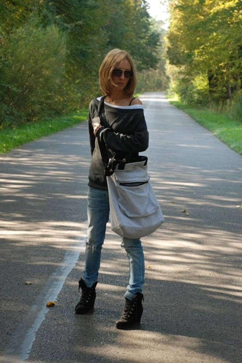 0140a289062f5 IWA dresowa torba damska duży rozmiar XXL   bawełniana torba