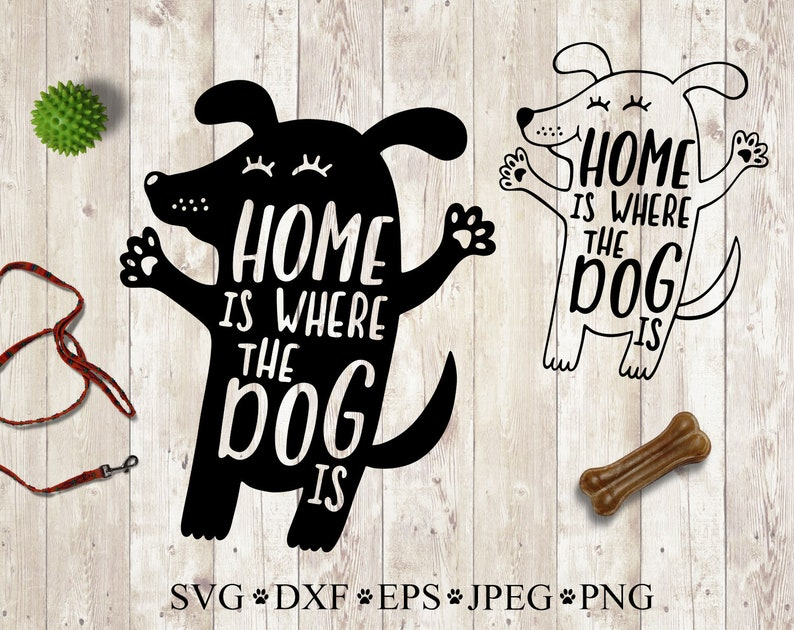 Dog Svg Clipart Quote Dog Saying To Print Home Decor Vector Etsy