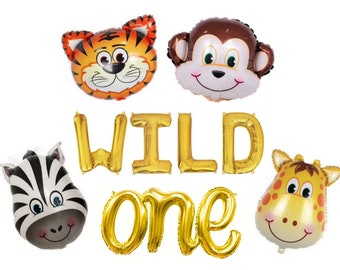 "/""WILD THING/"" photo frames w// jungle animals 10 pk GREAT GIFTS /& PARTY FAVORS"