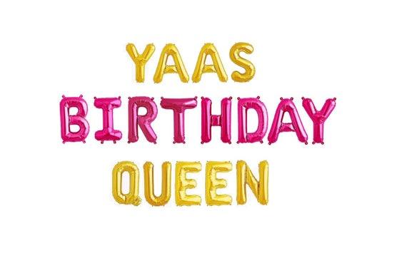 Birthday Queen Balloons Balloon