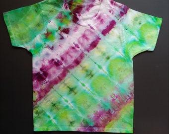 0905f4394d4f9 Tie dye t-shirt. Peeps logo shirt. Size small short sleeve | Etsy