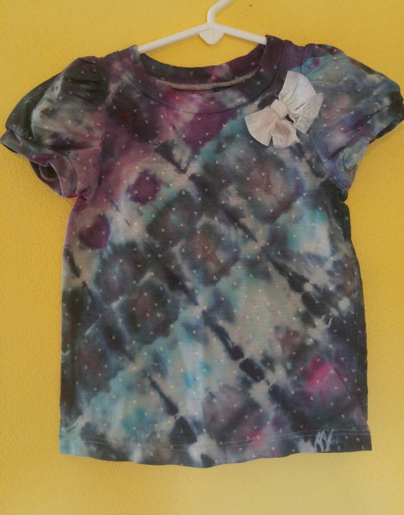 Juniors Reverse Dye Graphic Sweatshirt Upcycled