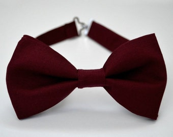 95651852a11a Bordeux bow tie-burgundy bow tie-wine bow ties-Kids Bow Tie-Maroon Bow Tie-Adult  Bow Tie-Groomsmen Bow Ties- Ring Bearer Bow Tie-Kid Bowtie
