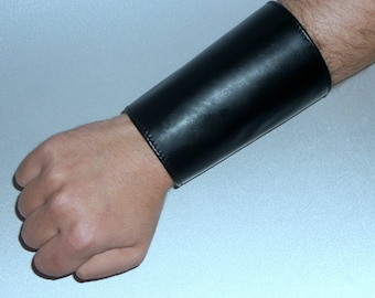 Leather cuff with stock exchange leather bracelet cuff cuff bracelet with stock exchange cuff black hexpad fetish gay leather Fetish