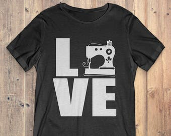 Quilting T-Shirt Gift: Love Quilting