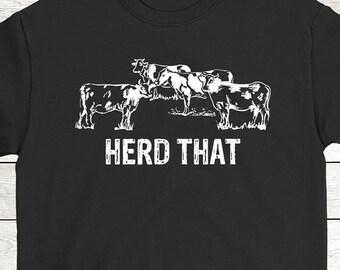 3b3e96e89 Buy 2+ Get 30% OFF Cow Lover Birthday T-Shirt Funny Tee For Farmer: Herd  That Men Women Tees