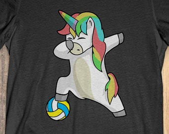 4157d775 Buy 2+ Get 30% OFF Unicorn Volleyball T-Shirt Funny Tee: Unicorn Volleyball