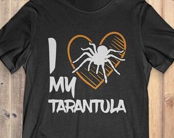 Tarantula T-shirt: I Love My Tarantula