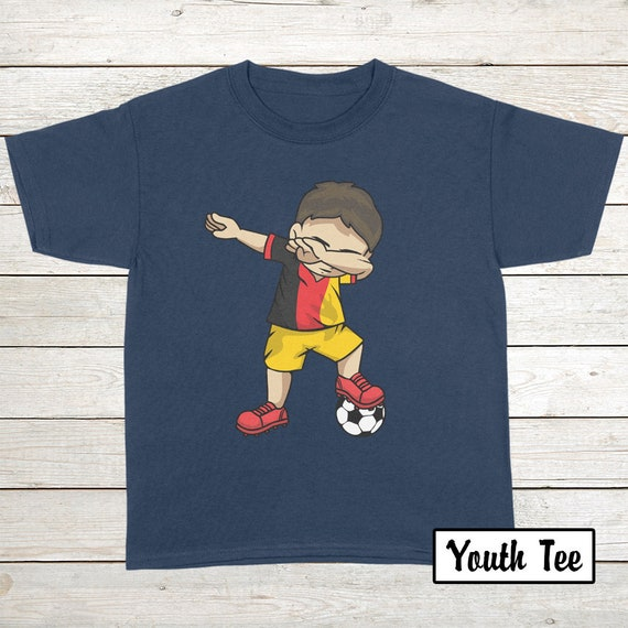 3cb7687ee Buy 2 Get 30% OFF Dabbing Soccer Boy Belgium T-Shirt Funny