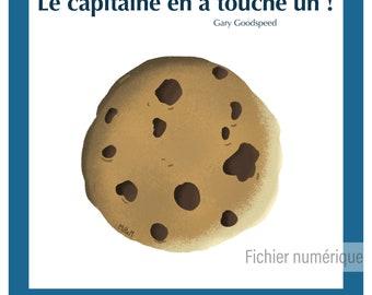 Affiche numérique - geek - série - illustration - cuisine - humour // Final space