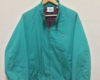Vintage Lacoste Jacket Harrington Zipper