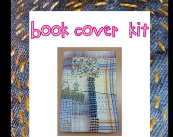 A5 Midori-style Book Cover hand sewing kit (Up to A5 Size)