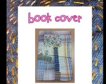 Midori-style Book Cover hand sewing pattern (instant download)