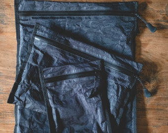 SAVE 10% | Set of Zip Pouches | Dyneema Composite Fabric (Cuben Fiber)