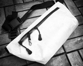 LIMITED EDITION PREORDER |White Dyneema Fanny Pack | Austri Alpin or Fidlock Buckle | Dyneema Composite Fabric (Cuben Fiber)