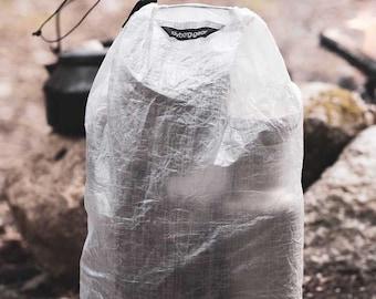 Drawstring Pack Sack | ultralight waterproof stuff sacks |Dyneema Composite Fabric / Cuben Fiber