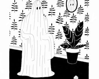 Ghosts 3 / Screenprint on paper