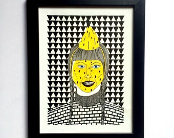 The best of disguise / The Banana / Original Drawing