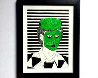 Best of Disguise / Frankenstein / Original Drawing